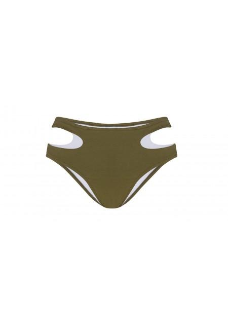 maillot de bain 2 pièces kaki BAS PARME