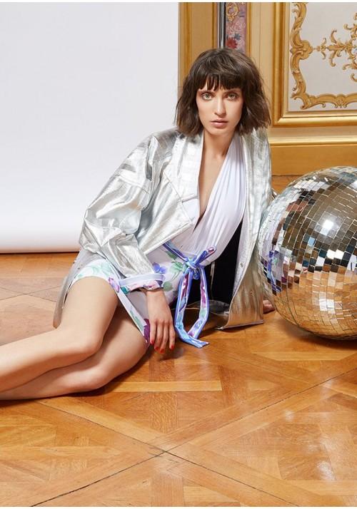 SIB One-piece swimsuit in white -  Luz X Léonard