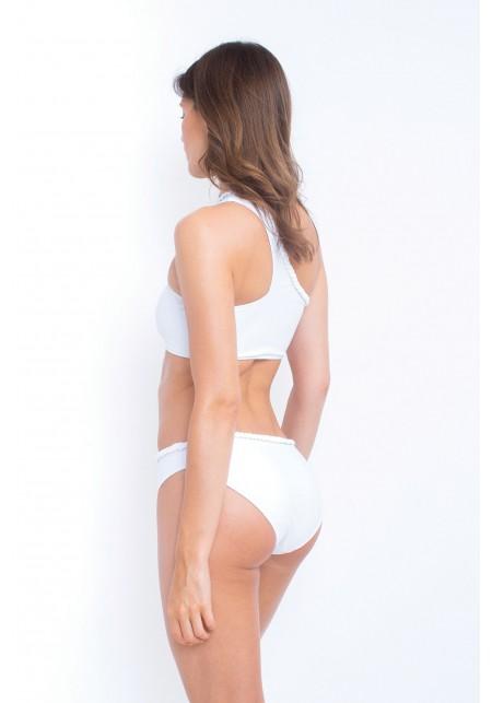 TOP CONSTANCE Bikini top in white -  Maillot de bain prix doux