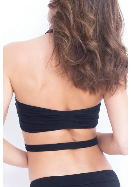 TOP LAURIE Bikini top in black -  Maillot de bain prix doux