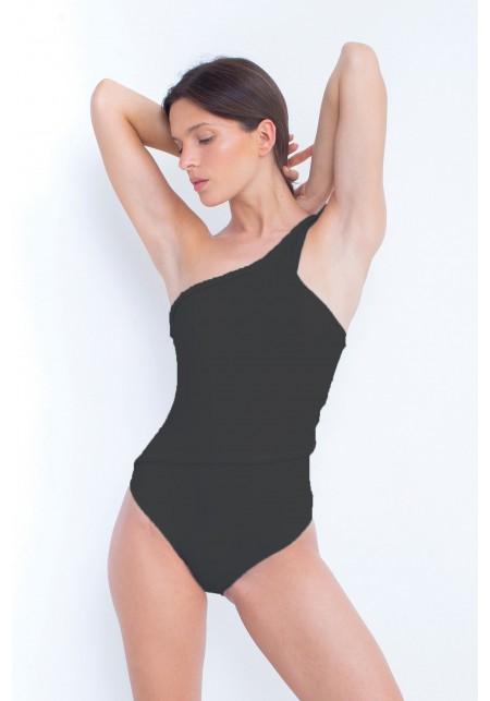 YARA One-piece swimsuit in black -  Maillot de bain prix doux
