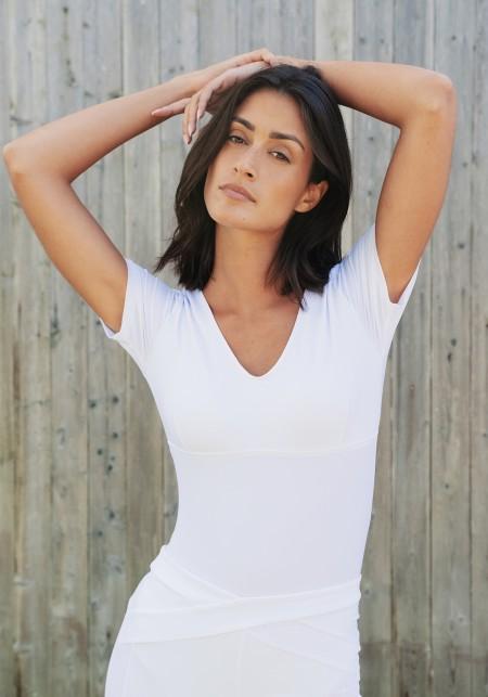 Body MELISSA White bodysuit -  INTO THE WILD